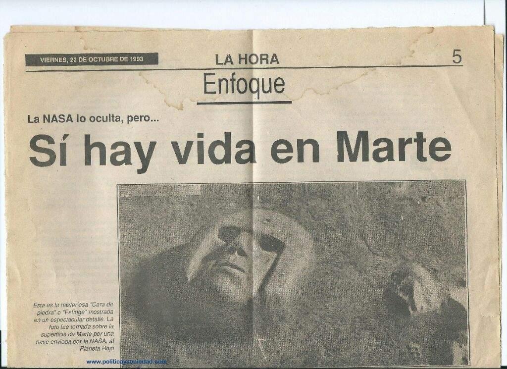 Resultado de imagen para MARTE CARA OCULTA