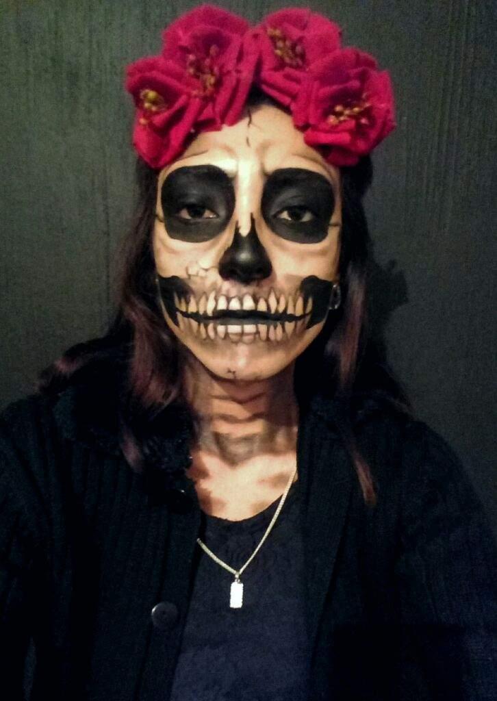 Maquillaje Fantasía Catrina Terror Amino