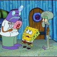 Spongebob After Eating Snail Food