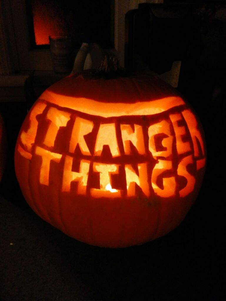 Carved A Pumpkin Stranger Things Amino