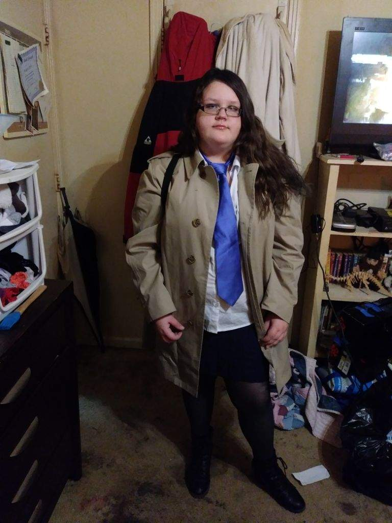 female castiel halloween costume | supernatural amino