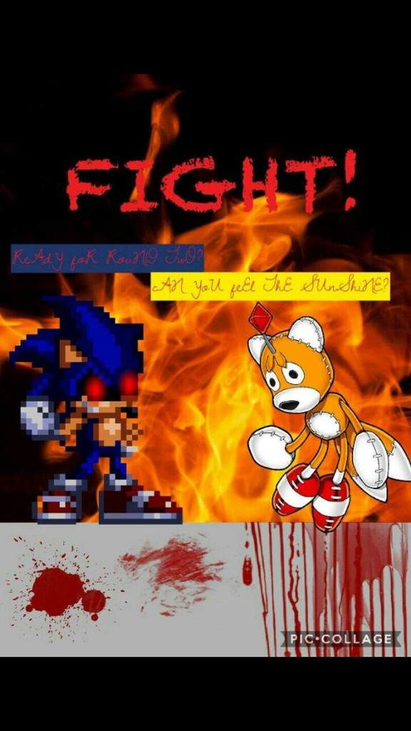 Clash Of Characters Halloween Special: Sonic Exe VS Tails Doll