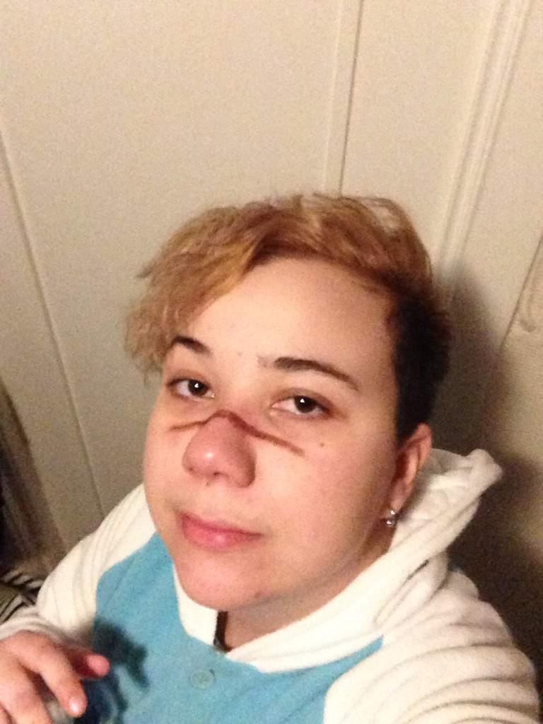 My Shiro Inspired Haircut Reveal Cosplay Voltron Amino