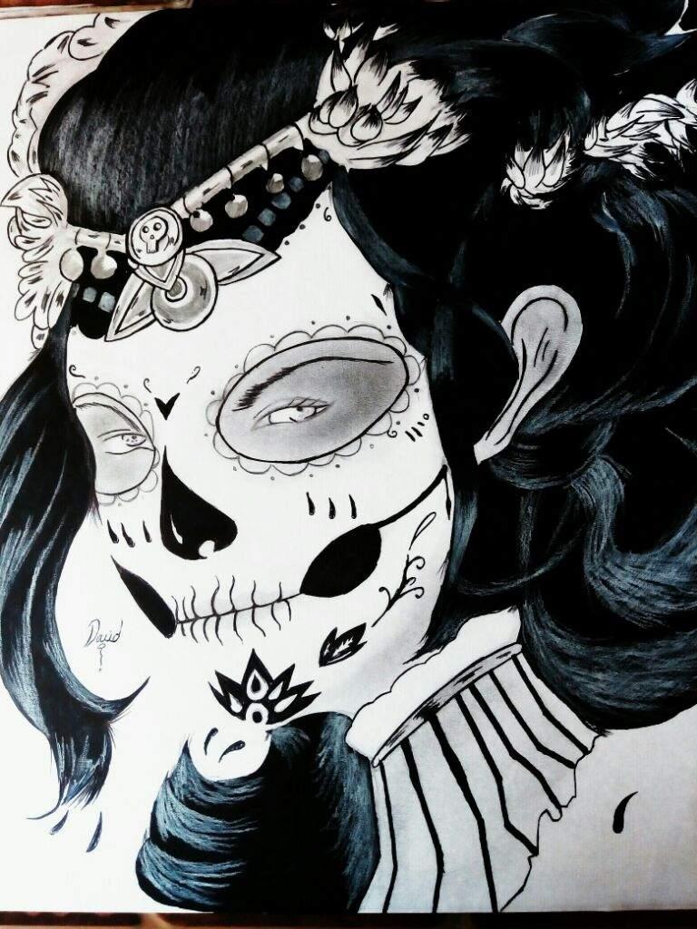 La Catrina Dibujo Dibujarte Amino