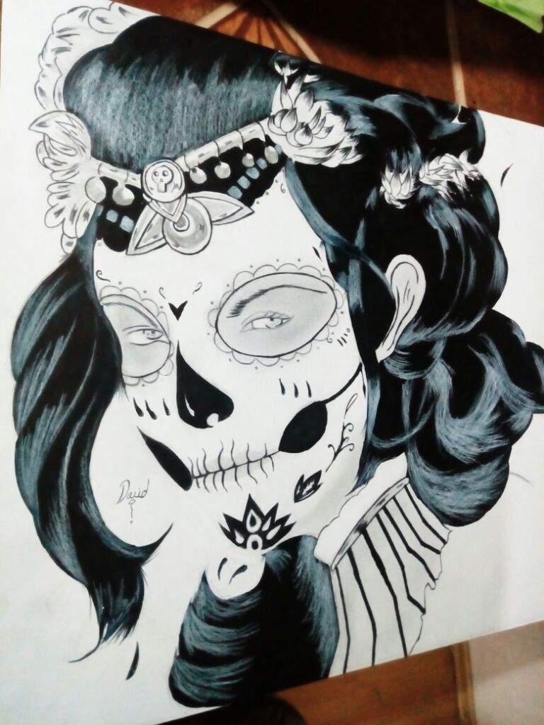 Dibujode La Catrina Arte Amino Amino