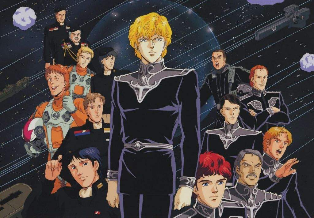 Orden para ver Legend of the Galactic Heroes | •Anime• Amino