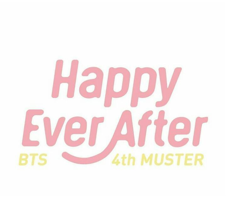 bts 4th muster happy ever after army s amino