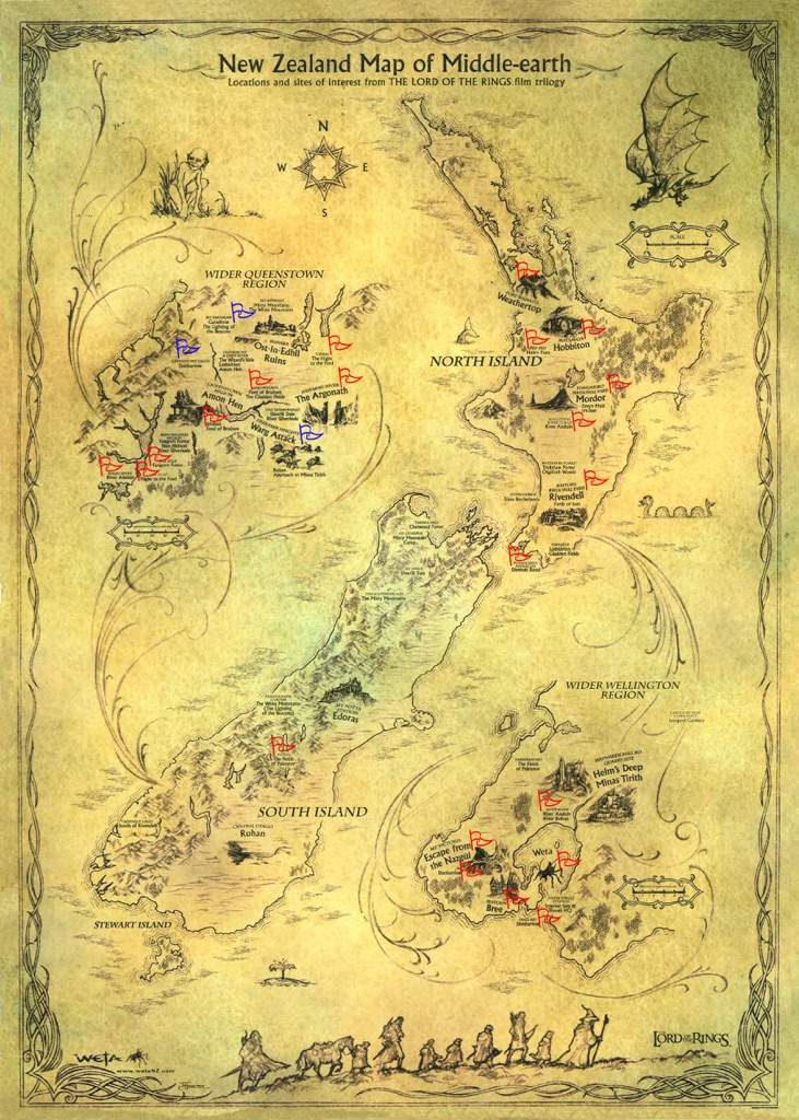My Middle Earth New Zealand Adventure Wiki Lotr Amino