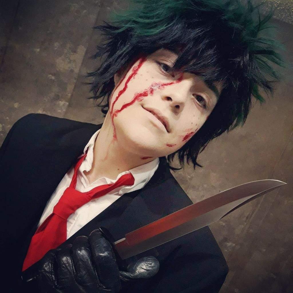 Villain Deku for Halloween | Cosplay Amino