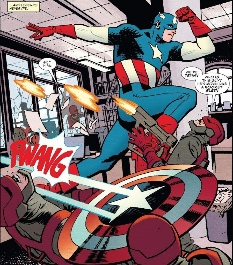 Image result for Captain America #695