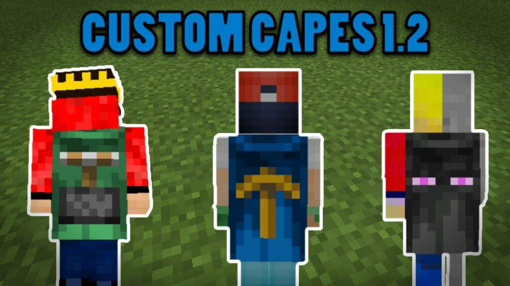 ✓How to capes on your own custom skin ! - Minecraft 1 2