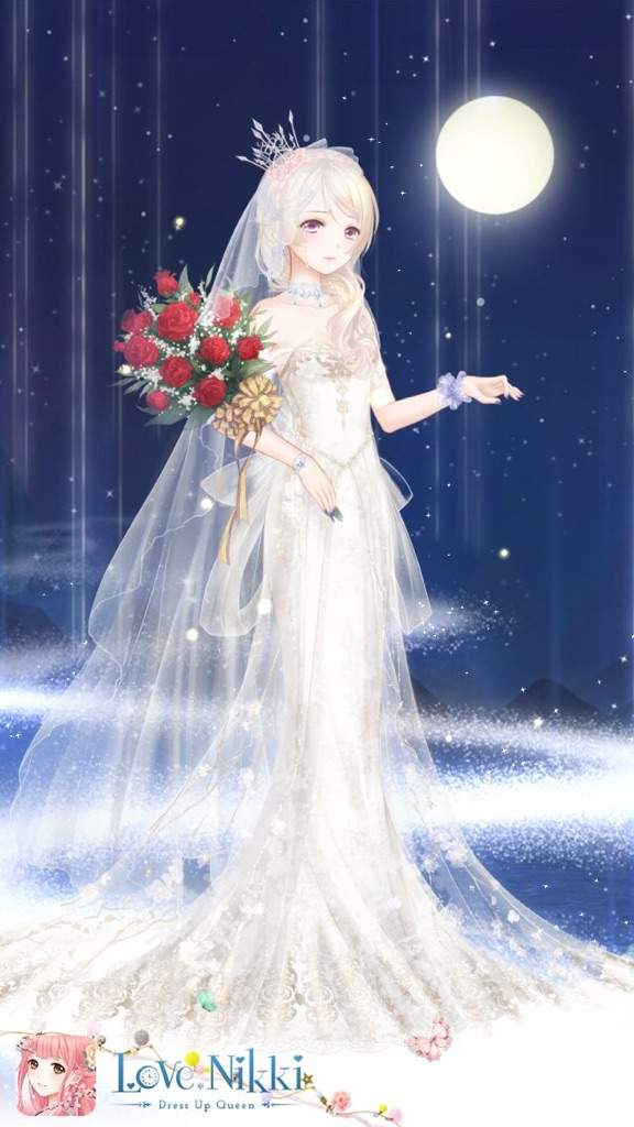 Hello i m new to this amino love nikki dress up queen for Anime wedding dress up games