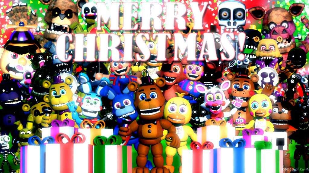 Fnaf Christmas.Fnaf Christmas With Amino Five Nights At Freddy S Amino