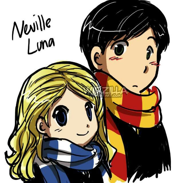 Neville and luna dating divas