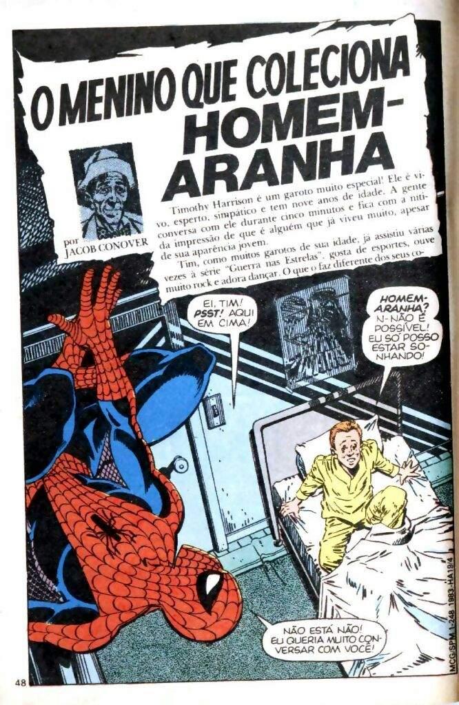 Resultado de imagem para o garoto que colecionava homem aranha cover