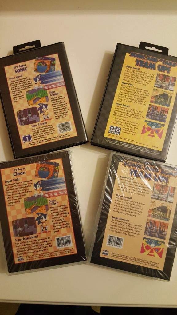 Sonic Soap Cartridge Sonic The Hedgehog Amino