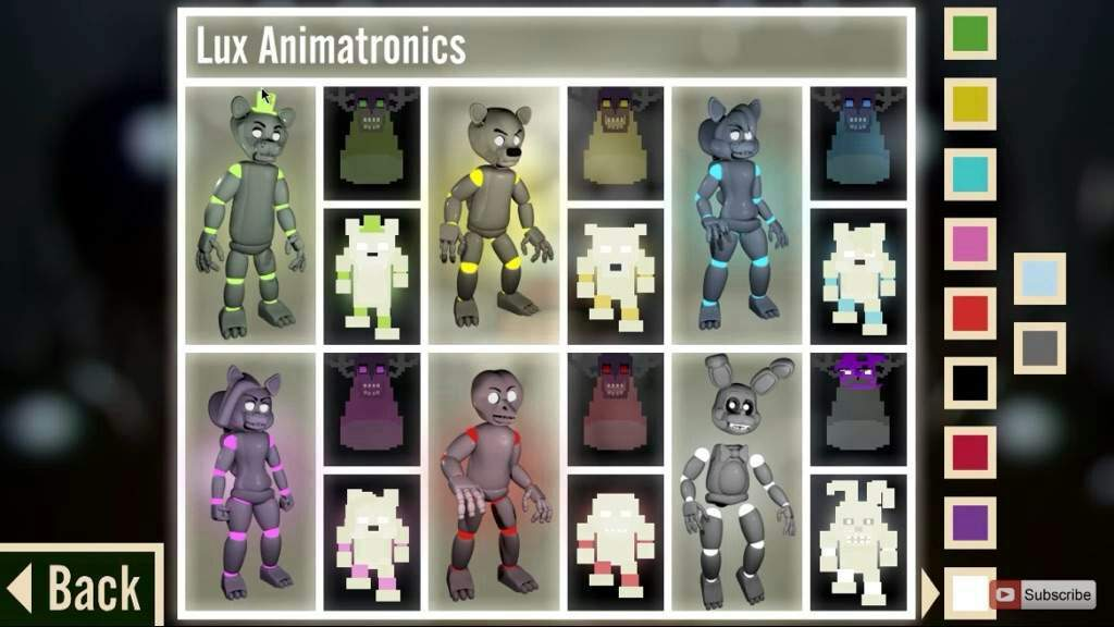 Fanmade Animatronic types | Five Nights At Freddy's Amino