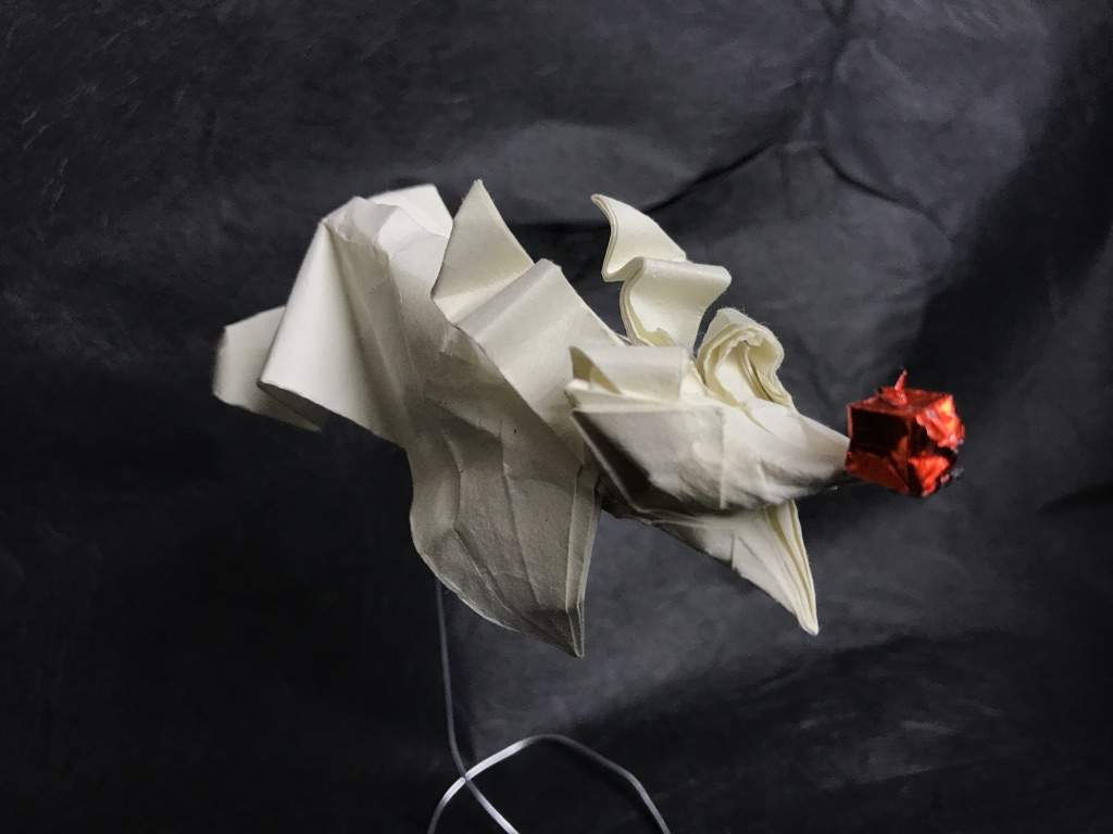 Origami Zero from the Nightmare Before Christmas | Crafty Amino