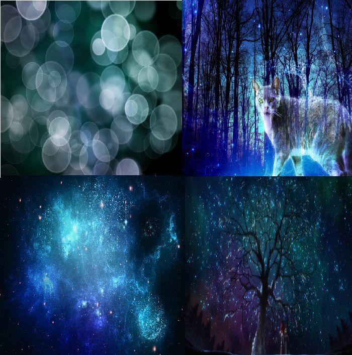 Blue Lights Aesthetic