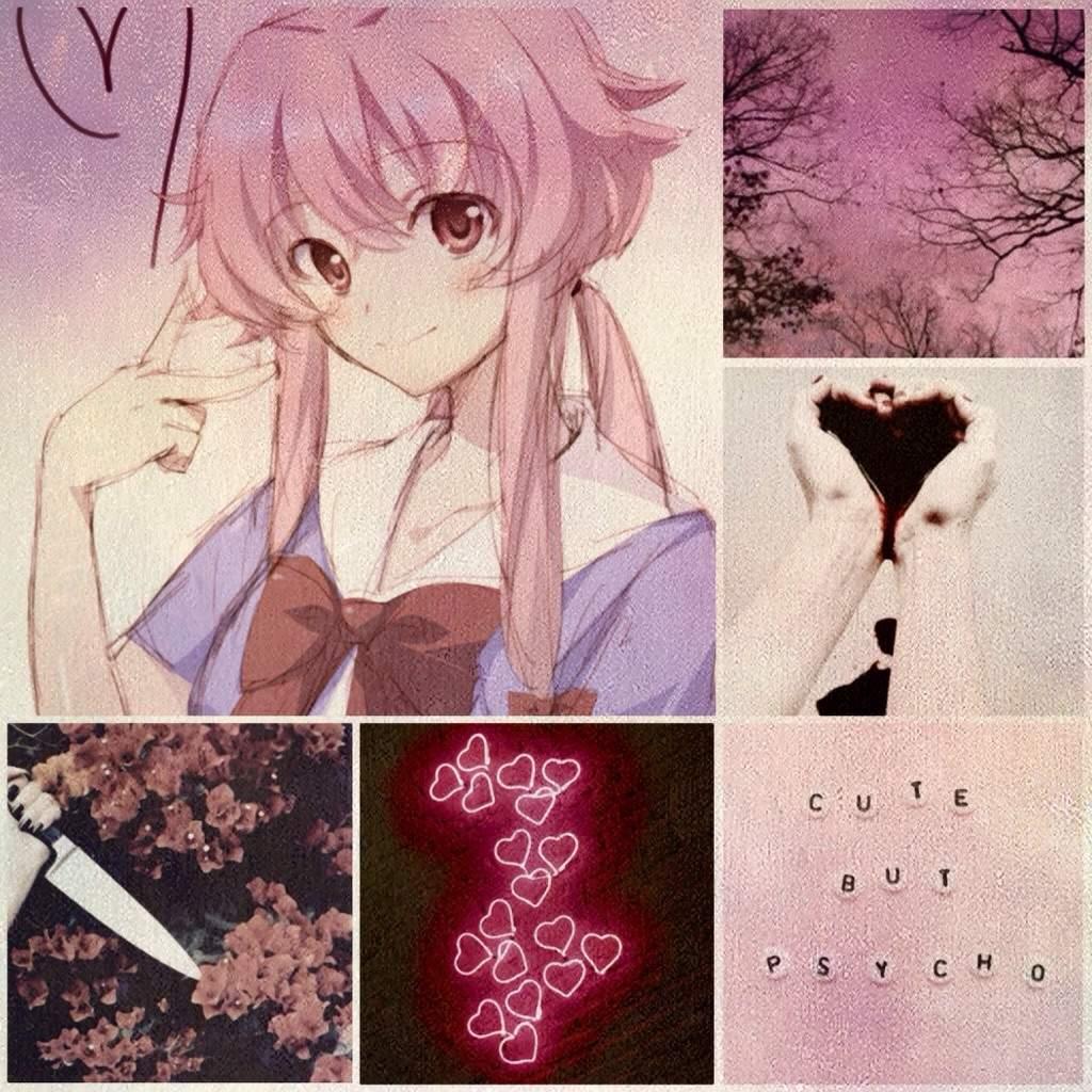 Yuno Gasai Aesthetic Mirai Nikki Future Diary Amino
