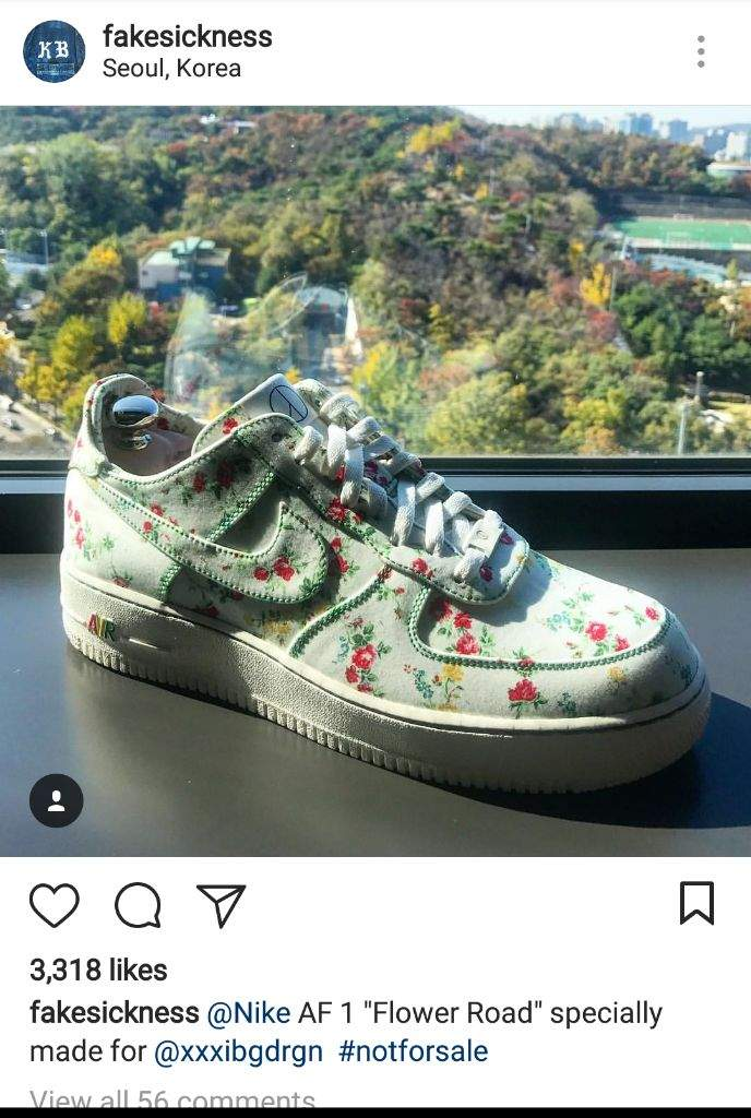 0e3439a724f G-Dragon Is Gifted a Nike Air Force 1 Low
