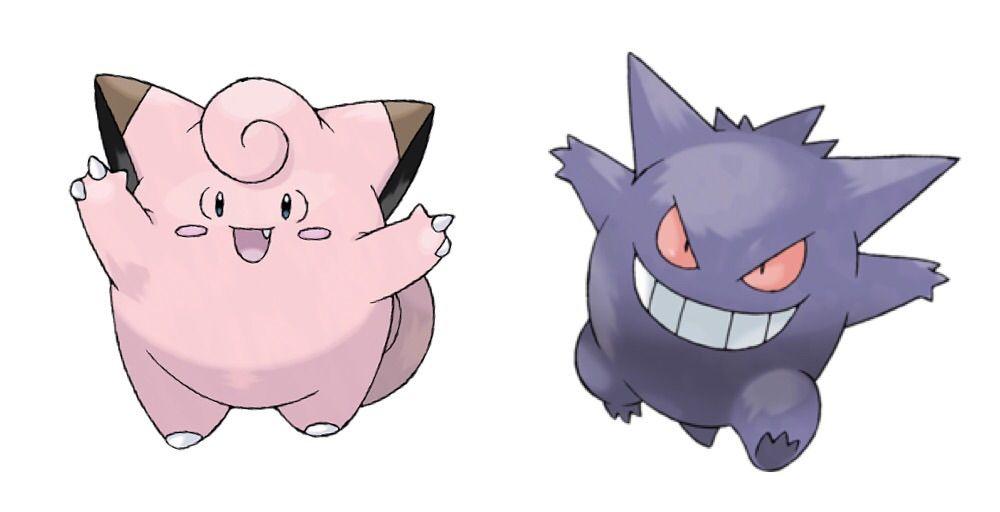 Teoria:Gengar é a sombra de Clefairy!! | Pokémon Amino Em Português Amino