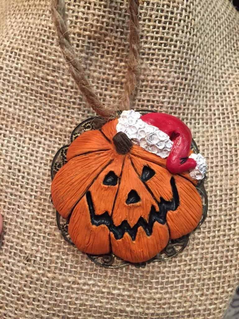 Nightmare before christmas pumpkin samdy claws christmas ornament ...