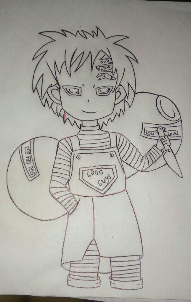 Gaara Como Chucky Naruamino Amino
