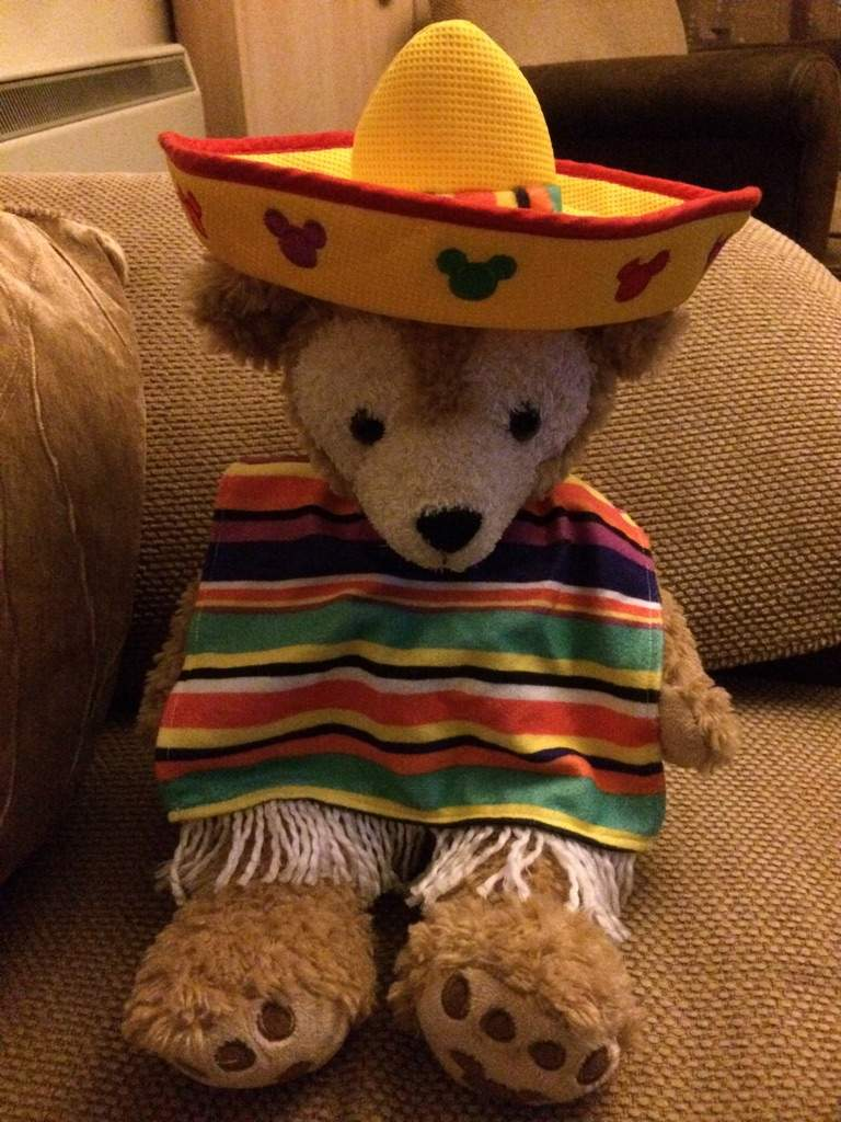 Duffy as you know has been busy showing off his Halloween costumes but this week he is in his traditional Mexican outfit to celebrate this filmu0027s release. & Duffy the Disney Bear | Disney Amino