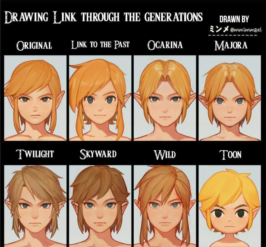 TLOZ: Versions of Link | Video Games Amino