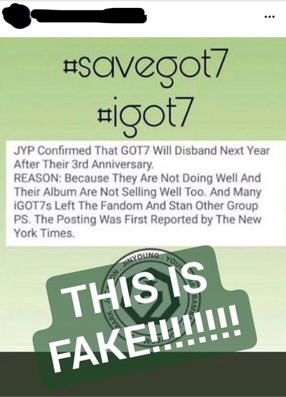 Got7 Disband Date
