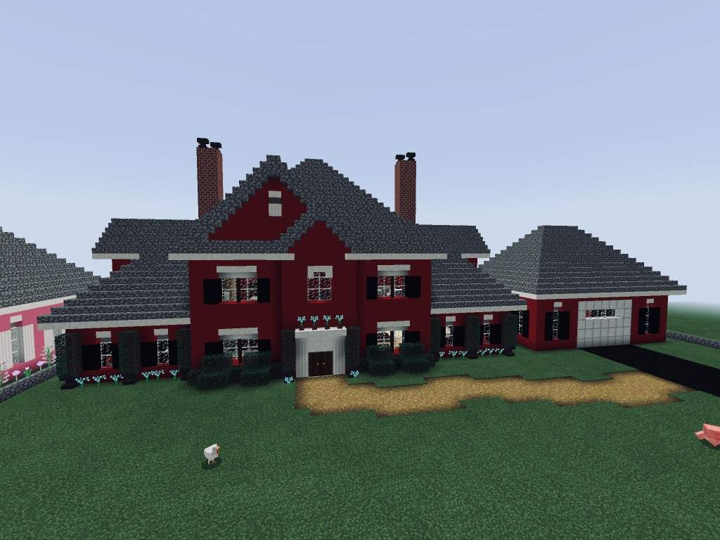 Big Traditional House Minecraft Amino