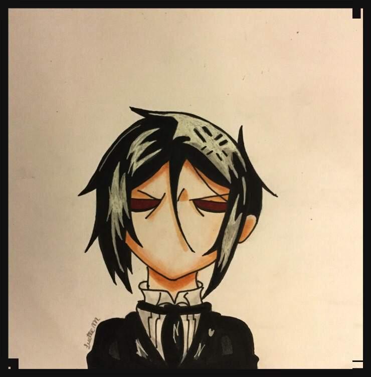 Angry Sebastian Drawing Black Butler Amino