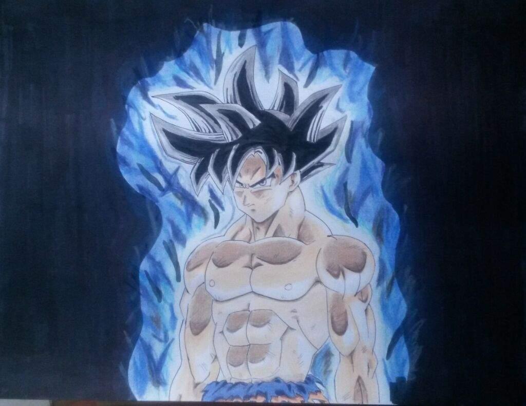 Goku Para Colorear Ultra Instinto
