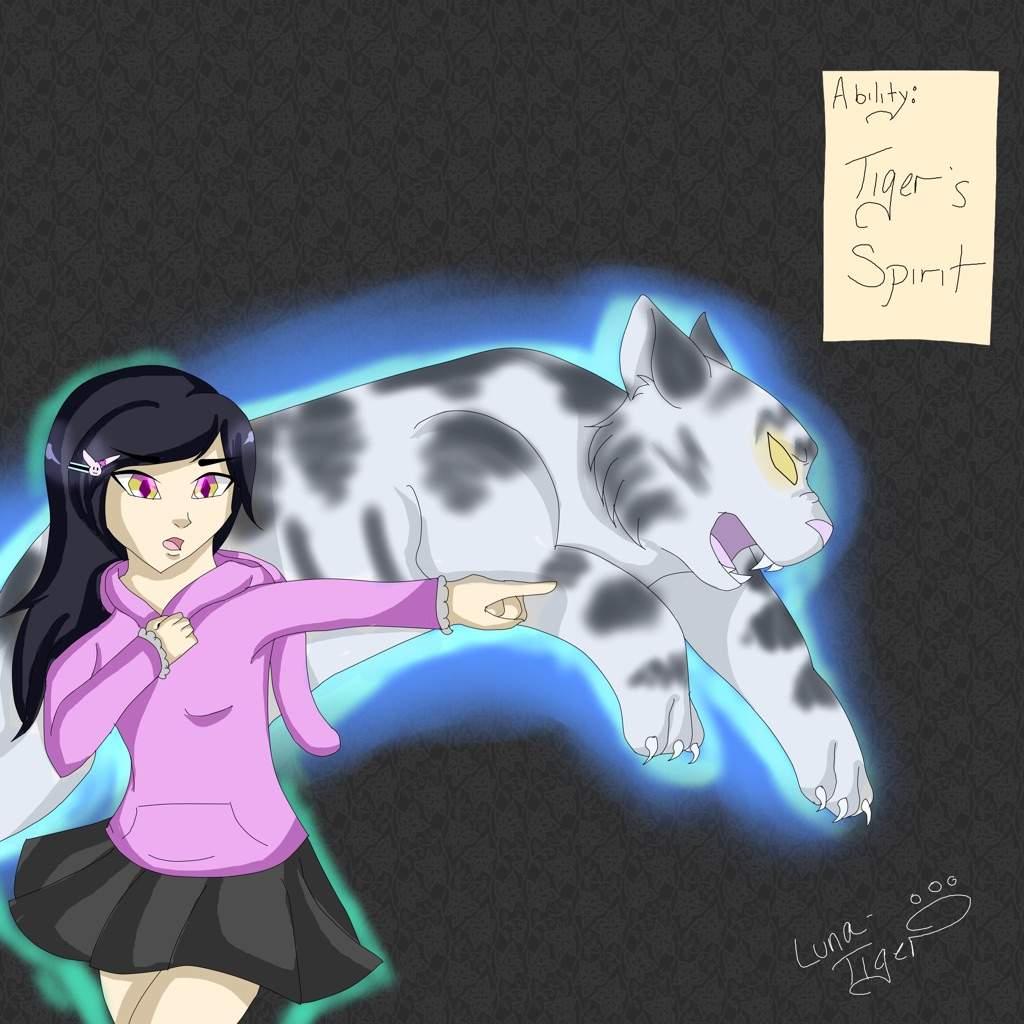 Ability: Tiger's Spirit   Bungou Stray Dogs Amino