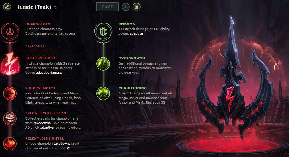 Season 8 Standard Rune Pages (Runes Reforged) | League Of ...