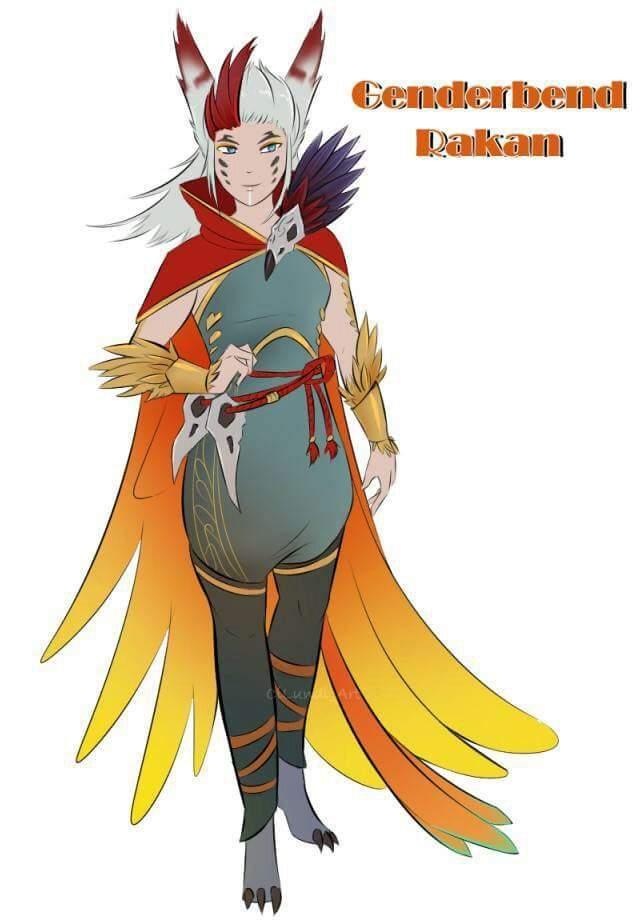 Female Rakan