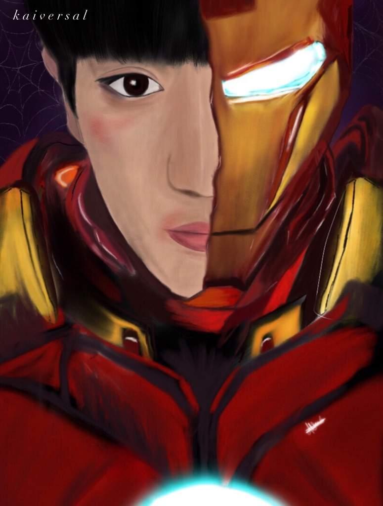 Chanyeol/Ironman Fanart   EXO (엑소) Amino