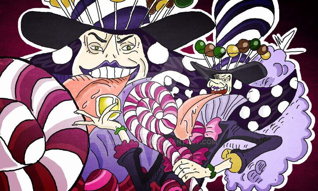 Top 10 Charlotte Family members | One Piece Amino