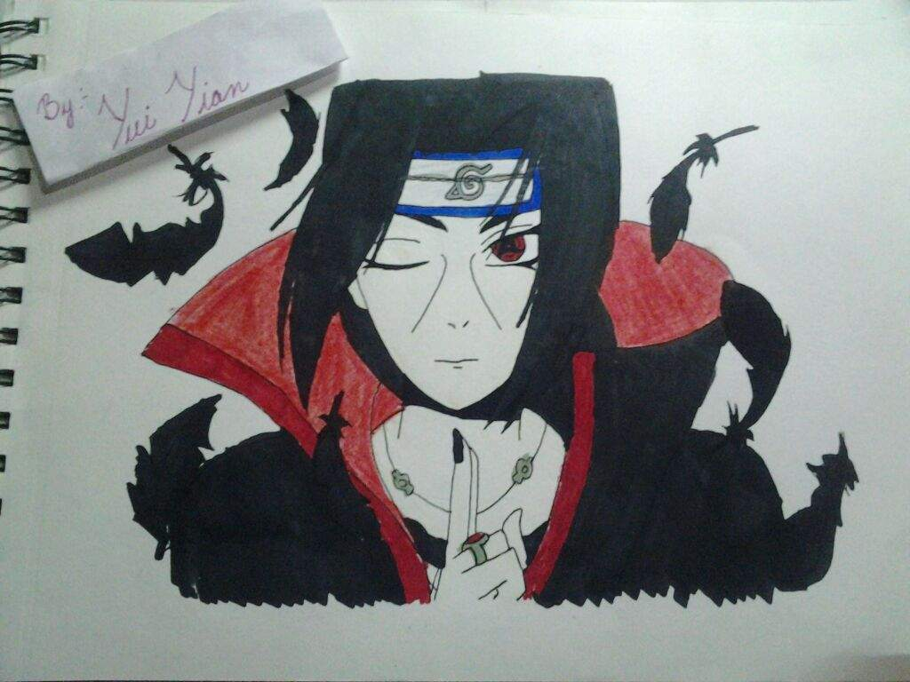 my next drawing i hope u all like my itachi drawing n plz tell me the mistakes in the comments below anyways lets get started with the process