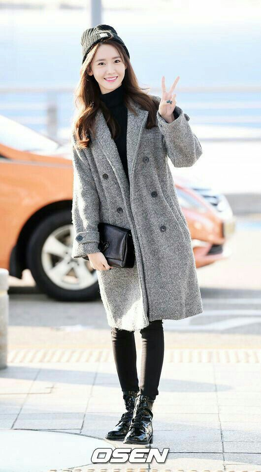 Snsd Airport Fashion Yoona Girls Generation 소녀 시대 Amino