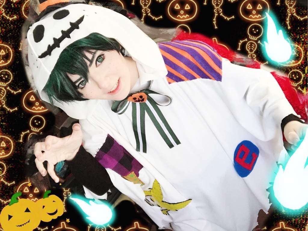 Izuku Midoriya Cosplay Halloween Ver My Hero Academia