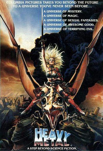 Resultado de imagen de pelicula heavy metal 1981