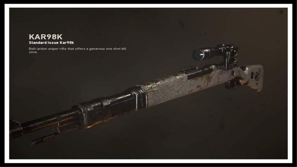 Snipers Of Call Of Duty World War 2 Kar98k Cod Amino