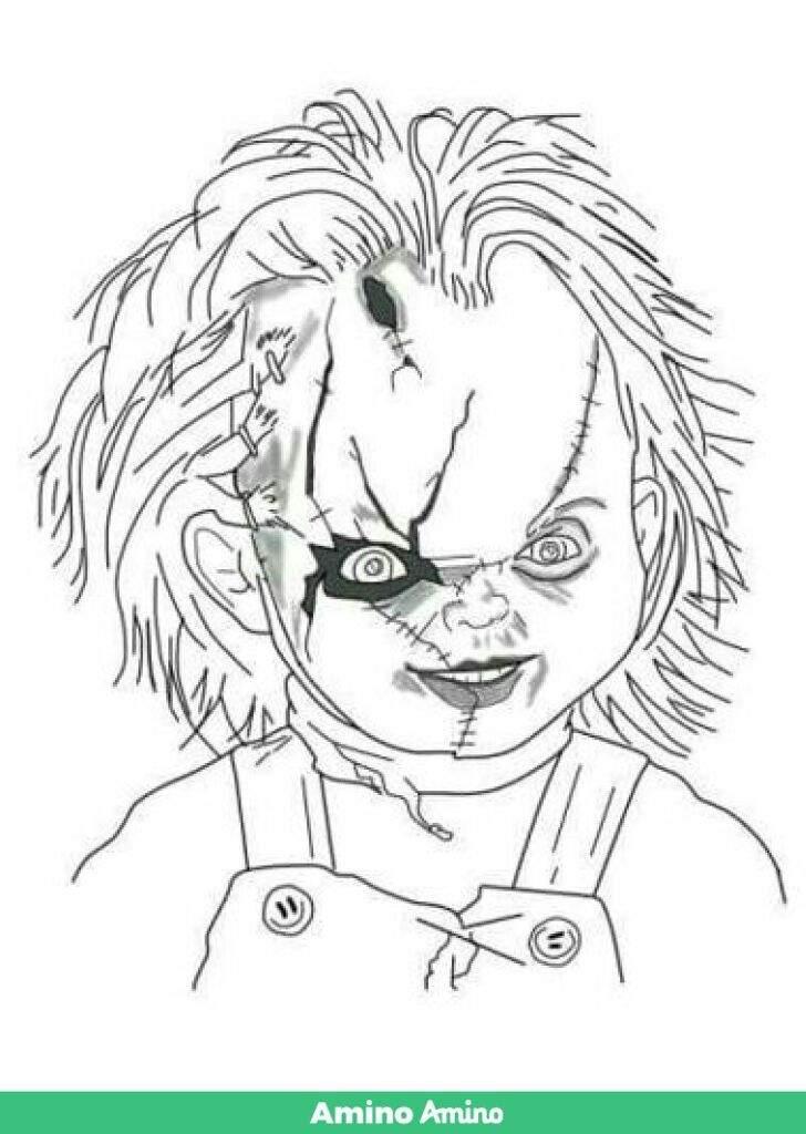 Dibujo De Chucky Chucky El Muñeco Diabolico Amino