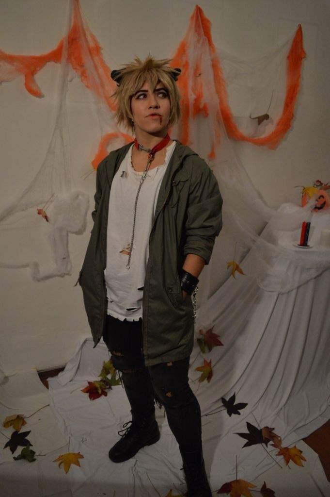 Bakugou Halloween 🎃🐺   Cosplay Amino