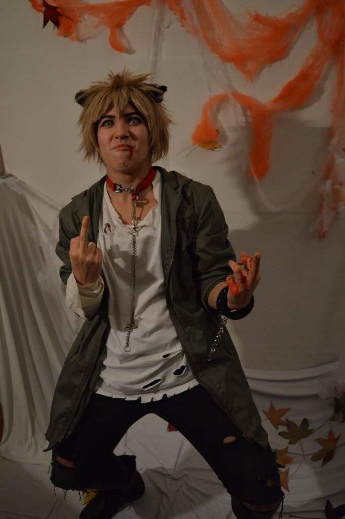 Bakugou Halloween 🎃🐺 | Cosplay Amino