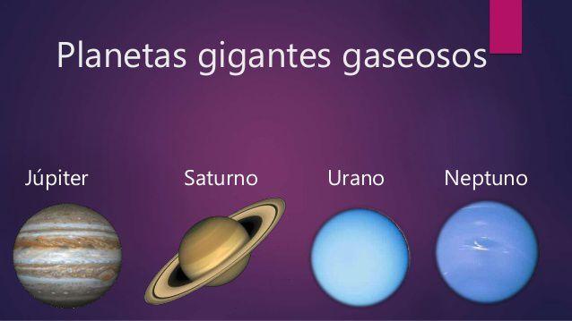 Resultado de imagen de LOS GIGANTES GASEOSOS DEL SISTEMA SOLAR