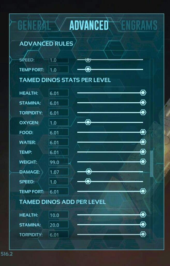 ○Tamed Dino: Always Getting Confused Wich Is The Stats The Dino Gets When  Tamed And Wich Is The Points You Put In Yourself. Keep In Mind That These  Are Per ...
