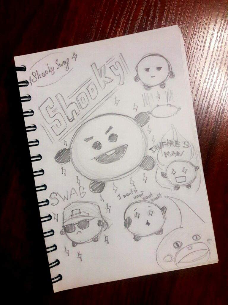 Bt21 Shooky Sketch Pt 1🍪🍪🍪 Army S Amino